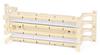 Hyperline 110C-WL-100P 100 парный 110 блок на подставке (без модулей)