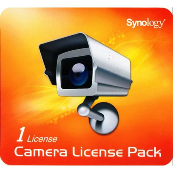 Synology 1-camera expansion pack (incl activation key to increase number cameras attached to NAS) (LicensePack1)