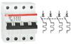 ABB 2CDS253001R0634 (STO S203 C63) Автоматический выключатель, серия S200, C63А, 3-полюсный