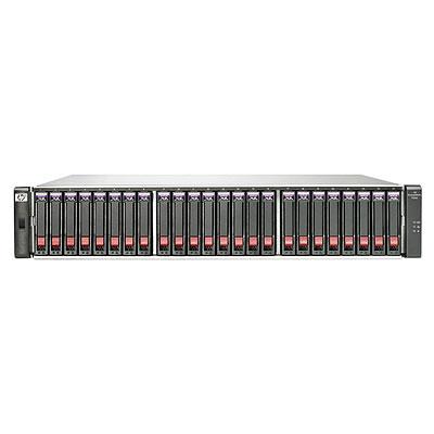 HP P2000 G3 FC MSA DC с 24 жесткими дисками 6G SAS емкостью 300 ГБ, 10000 об/ мин, малый типоразмер, 7, 2 ТБ (комплект)