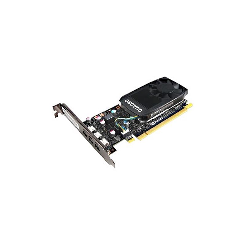 Dell NVIDIA Quadro P400, 2GB, 3 mDP, FH, (Precision )(Customer KIT)