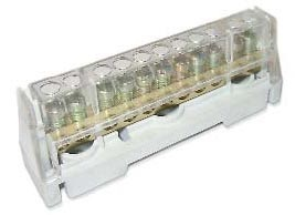 DKC Клеммная колодка соединительная 1р 11х5, 3мм. цвет серый
