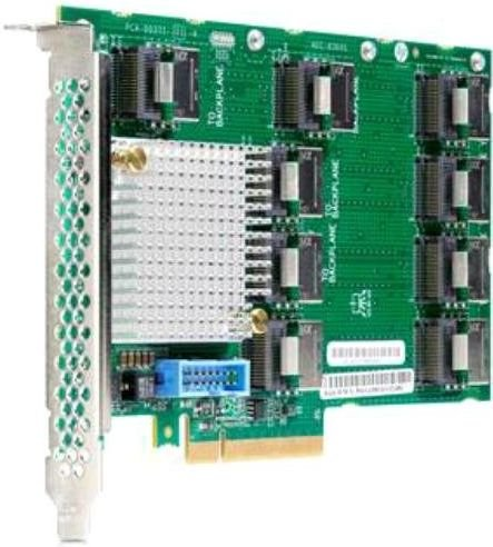 Карта расширения HPE DL38X Gen10 12Gb SAS Expander Card Kit with Cables