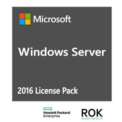 HPE Microsoft Windows Server 2016 5-User CAL Pack