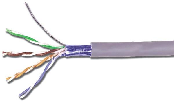 Кабель SIEMON витая пара, экранированная F/ UTP, категория 5e, 4 пары (24 AWG)
