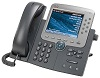 Телефон Cisco Unified IP Phone 7975, Gig Ethernet, Color