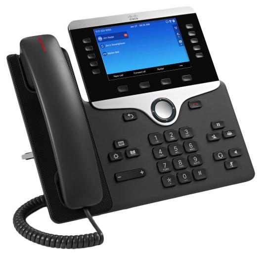 CP-8861-K9= Телефон Cisco IP Phone 8861