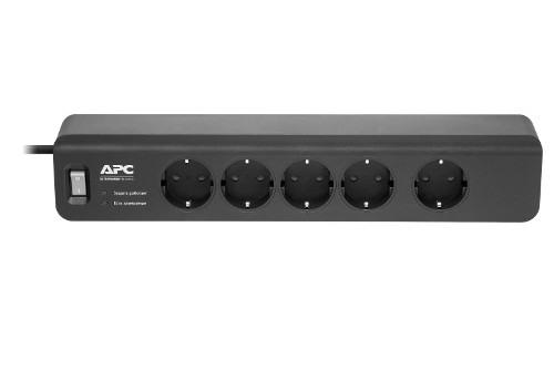 Сетевой фильтр APC Essesntial SurgeArrest 5 Oultets 230V, Black