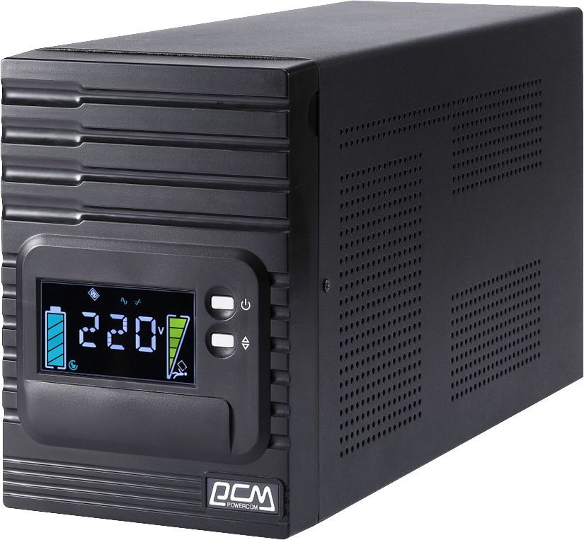 ИБП POWERCOM Smart King Pro+ SPT-1500-II LCD, 1500ВA