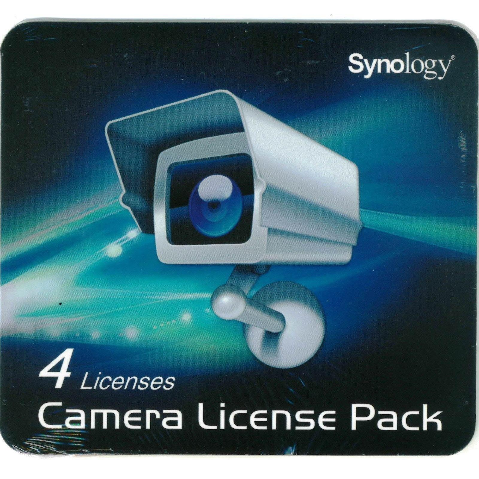 Synology 4-camera expansion pack (incl activation key to increase number cameras attached to NAS) (LicensePack4)