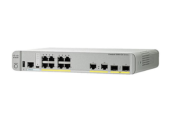 Маршрутизатор Cisco Catalyst 3560-CX 8 Port PoE IP Base