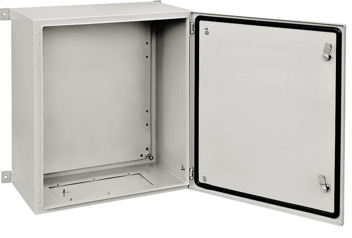 ZPAS WZ-2285-01-20-011 Шкаф электрический, серия SWN, 1000х800х300 (ВхШхГ), c монтажной панелью, IP65, цвет серый (RAL 7035)
