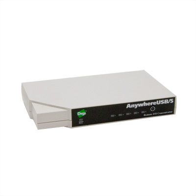 Концентратор USB-портов Digi AnywhereUSB 5 port USB over IP Hub Gen 2 with Multi-host Connections