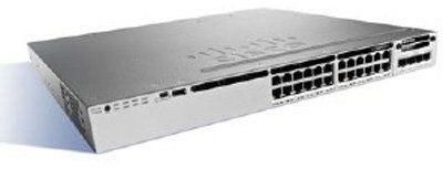 WS-C3850-24P-E Коммутатор Cisco Catalyst 3850 24 Port PoE IP Services