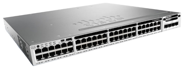 WS-C3850R-48P-L Коммутатор Cisco Catalyst 3850 48 Port PoE LAN Base, Russia