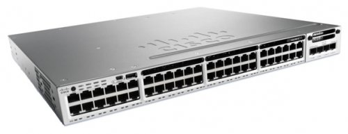 WS-C3850R-48T-S Коммутатор Cisco Catalyst 3850 48 Port Data IP Base, Russia