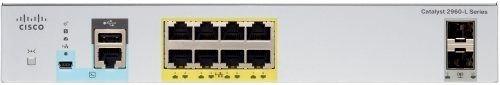 Cisco WS-C2960L-8TS-LL Коммутатор Catalyst 2960L 8 port GigE, 2 x 1G SFP, LAN Lite