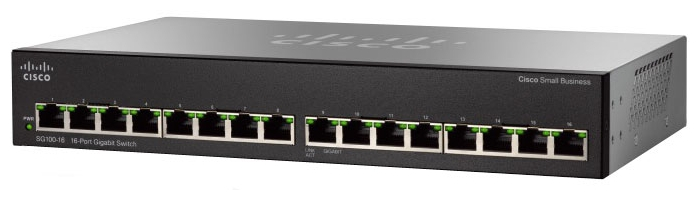 Cisco SG110-16-EU Коммутатор 16-портовый SG110-16 16-Port Gigabit Switch
