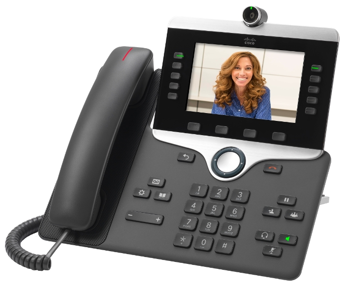 CP-8845-K9= Телефон Cisco IP Phone 8845