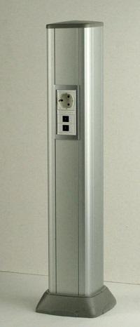DKC Алюминиевая колонна высотой 0, 71 м, цвет серый металлик