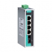 Коммутатор MOXA EDS-205A-M-SC 5 port switch, 4 x 10/ 100 TX, 1 x 100 FX (multimode), dual power