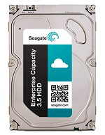 HDD SATA Seagate 8000Gb (8Tb), ST8000NM0055, Exos 7E8, 7200 rpm, 256Mb buffer