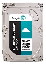 HDD SAS Seagate 8000Gb (8Tb), ST8000NM0075, Exos 7E8, 7200 rpm, 256Mb buffer