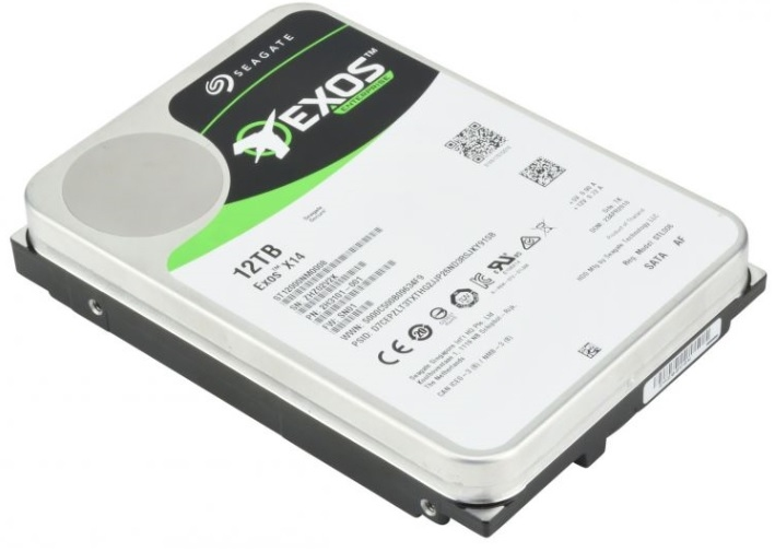 HDD SATA Seagate 12Tb, ST12000NM0008, Exos X14, 7200 rpm, 256Mb buffer