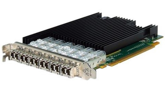 Silicom PE310G6SPi9-SR Six Port Fiber (SR) 10 Gigabit Ethernet PCI Express Server Adapter X16 Gen3, Based on Intel 82599ES, Standard height short add-in card, on board support for Fiber SR <img style='position: relative;' src='/image/only_to_order_edit.gif' alt='На заказ' title='На заказ' />