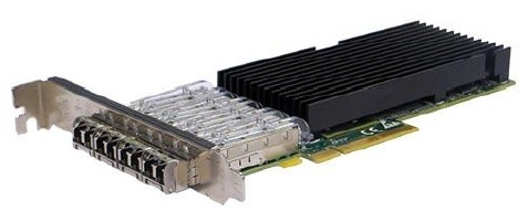 Silicom PE310G4SPI9LA-SR Quad Port Fiber (SR) 10 Gigabit Ethernet PCI Express Server Adapter X8 Gen3, Based on Intel 82599ES, Low-profile, on board support for Fiber SR, RoHS compliant <img style='position: relative;' src='/image/only_to_order_edit.gif' alt='На заказ' title='На заказ' />