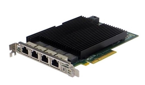 Silicom PE310G4I40-T Quad Port Copper 10 Gigabit Ethernet PCI Express Server Adapter X8 Gen 3.0, Based on Intel X540, RoHS compliant