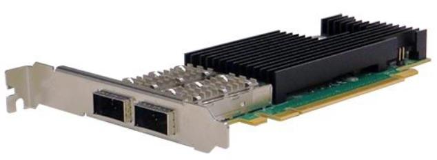 Silicom PE3100G2DQiRL-QX4 Dual Port 10G/ 25G/ 40G/ 100GBaseX Content Director (QSFP28, Intel FM10420)<img style='position: relative;' src='/image/only_to_order_edit.gif' alt='На заказ' title='На заказ' />