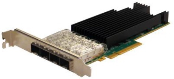 Silicom PE325G4I71L-ZS Quad Port Fiber (SR) 25 Gigabit Ethernet PCI Express Server Adapter X8 Gen3, Based on Intel XXV710-AM2, Low-profile, on board support for Fiber SR, RoHS compliant <img style='position: relative;' src='/image/only_to_order_edit.gif' alt='На заказ' title='На заказ' />