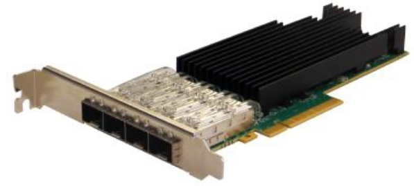 Silicom PE325G4I71L-ZL Quad Port Fiber (LR) 25 Gigabit Ethernet PCI Express Server Adapter X8 Gen3, Based on Intel XXV710-AM2, Low-profile, on board support for Fiber LR, RoHS compliant <img style='position: relative;' src='/image/only_to_order_edit.gif' alt='На заказ' title='На заказ' />