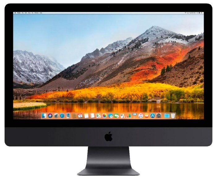 Apple 27-inch iMac Pro Retina 5K display: 3.2(up to 4.2)GHz 8-core Intel Xeon W, 32GB, 1TB SSD, Radeon Pro Vega 56-8GB, Magic Keyboard s/ g, Magic Mouse 2 s/ g