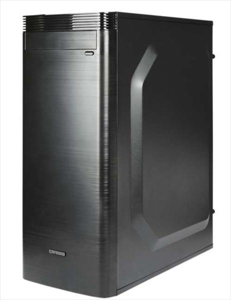IRBIS Office 200 MT , Core I3-8100, 4Gb, SSD 120Gb, PSU 450W, DOS, black,  1 year