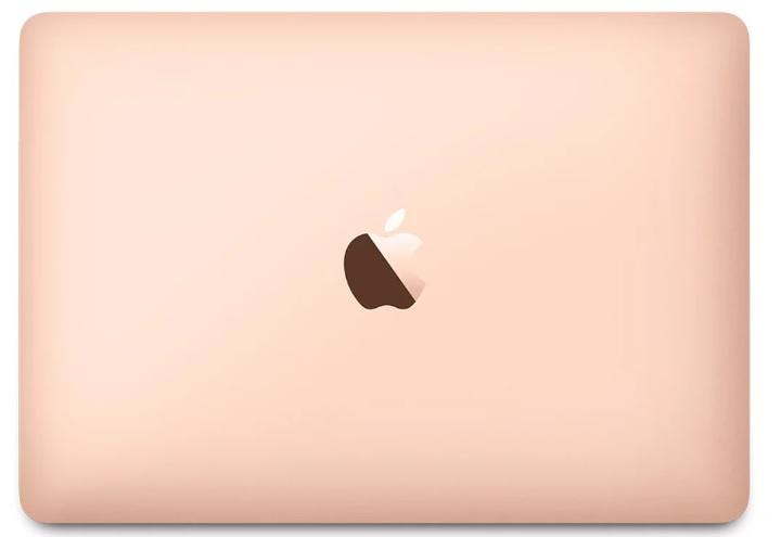 Apple 12-inch MacBook: 1.3(TB 3.2)GHz Intel Dual-Core i5, 8GB, 512GB SSD, Intel HD Graphics 615, Gold
