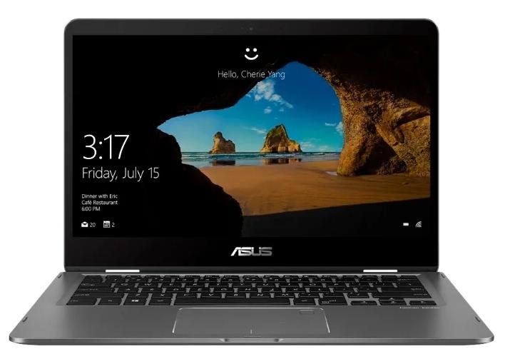 ASUS Zenbook Flip 14 UX461FA-E1041T Core i7-8565U/ 8Gb/ 512GB SSD/ UMA/ 14.0 FHD 1920x1080 TOUCH / WiFi/ BT/ FP/ Cam/ Illum KB/ Windows 10/ 1.4Kg/ Slate Grey/ Sleeve + Stylus + USB3.0 to RJ45/ 2Y War