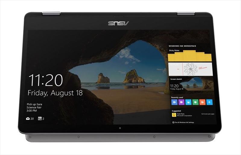 ASUS VivoBook Flip 14 XMAS TP401CA-EC083T Core m3-7Y30/ 4Gb/ 128Gb HDD/ Intel HD graphics 615/ 14.0
