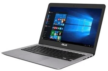ASUS Zenbook Special UX310UA-FC1079 Core i3-7100U/ 8Gb/ 256GB SATA3 SSD/ UMA Intel HD 620/ 13.3 FHD(1920x1080) AG/ WiFi/ BT/ Cam/ DOS/ 1.45Kg/ QUARTZ GREY/ Sleeve + USB3.0 to RJ45 cable