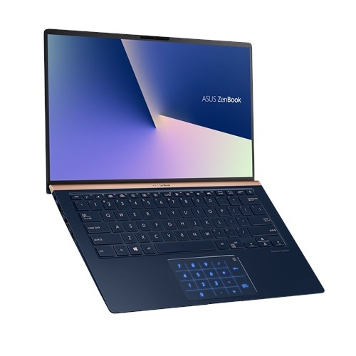 ASUS Zenbook 14 UX433FN-A5365 Core i5 8265U/ 8GB/ 256GB PCIe SSD/ GeForce MX150 2Gb/ Number Pad/ 14