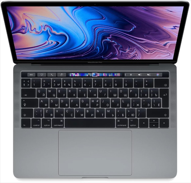 Apple 13-inch MacBook Pro, Intel i5 Dual-core 2.3(up to 3.6)GHz, 16GB, 128GB SSD, Intel Iris Plus Graphics 640, (mod. A1708; Z0UH000AX), Space Grey