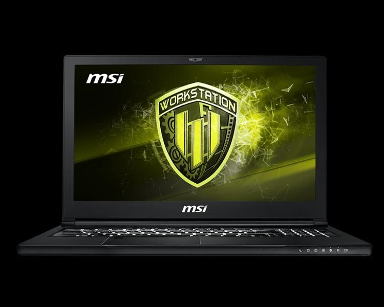 MSI WS63 8SL-065RU Core i7-8750H 2.2GHz, 15.6