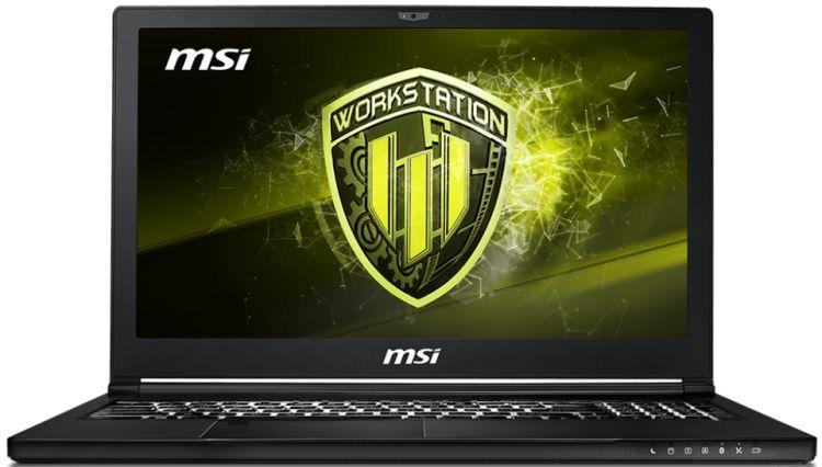 MSI WS63 8SK-053RU Core i7-8750H 2.2GHz, 15.6