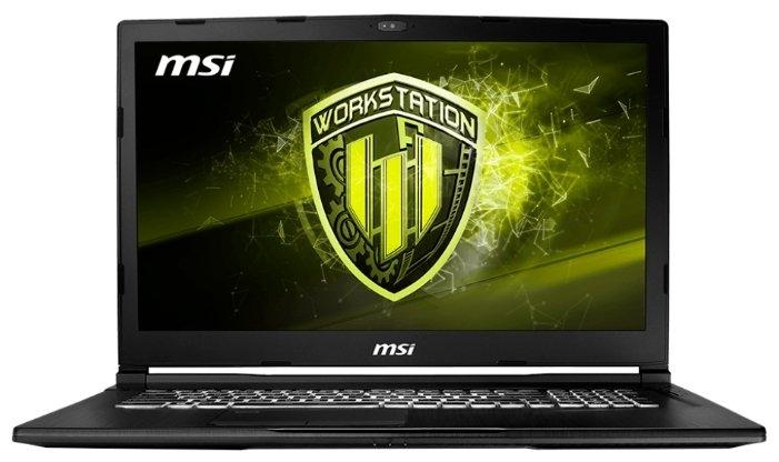 ASUS MSI WE73 8SK-295RU Xeon E-2176M 2.7GHz, 17.3