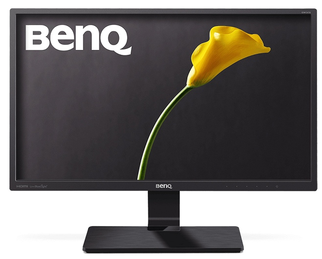 BENQ 23, 8'' GW2470ML AMVA+ (SNB) LED, 1920x1080, 4ms, 250 cd/ m2, 178/ 178, 20 Mln:1, D-Sub, DVI, HDMI, Speaker, Glossy Black / Texture black (замена GW2470HM)