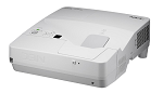 NEC projector UM301X incl. wall mount, LCD, 1024x768 XGA, 3000lm, 6000:1, D-Sub, HDMI, RCA, RJ-45, Lamp:8000hrs (60003841)