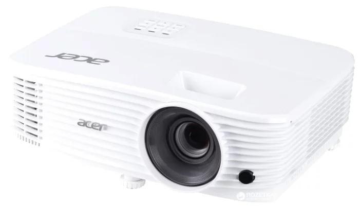 Acer projector P1350W, DLP 3D, WXGA, 3700Lm, 20000/ 1, 2xHDMI, Bag, 2.25kg (replace P1386W)