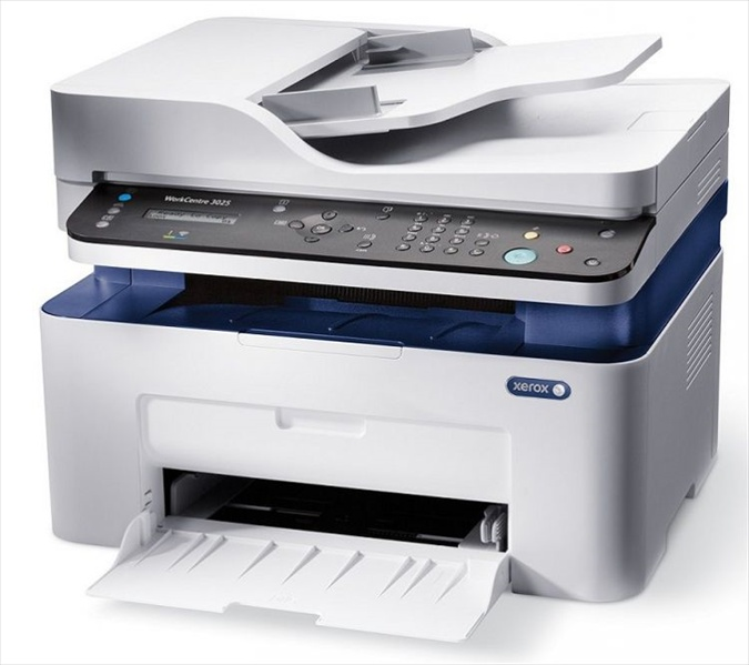 МФУ XEROX WC 3025NI (A4, P/ C/ S/ F, 20ppm, max 15K pages per month, 128MB, GDI, USB, Network, Wi-fi)
