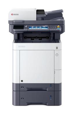 Kyocera M6635cidn (замена модели M6535cidn) (А4, 35 ppm, 1200 dpi, 1024 Mb, USB, Gigabit Ethernet, duplex, автопод,  стартовый тонер) продается только с доп. тонером TK-5280 K/ C/ M/ Y